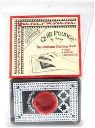 Quilt Marking Tools: Different Ways to Draw Guidelines - Suzy Quilts & Quilt-Pounce-quilt-marking-tool Adamdwight.com