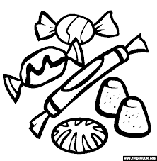 Small Picture Sweet Treats Online Coloring Pages Page 1