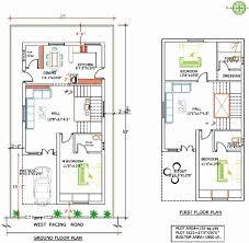 20 x 60 house plans north facing house plans elegant 20x60 house plans
