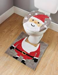 fancy toilet seat covers. the christmas decorations don\u0027t need to stop at bathroom door fancy toilet seat covers