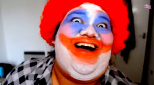 if you re afraid of clowns this makeup tutorial won t help rtm rightthisminute