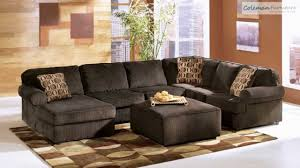 Woodhaven Living Room Furniture Vista Chocolate Living Room Collection From Signature Design By