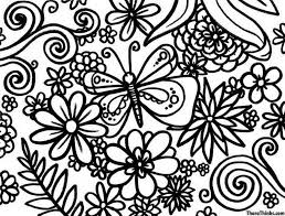 Small Picture Coloring Pages Of Flowers For Free Coloring Pages