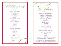 Event Programs Sample Of Programs For Events Magdalene Project Org
