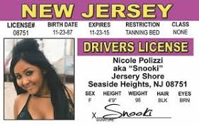 Nicole Polizzi Id Seaside Jersey Heights Ebay License Shore Drivers Card Nj Snooki