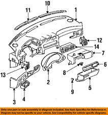 dash parts for mitsubishi 3000gt ebay 3000gt dashboard at 1996 Mitsubishi 3000gt Vr4 Under Dash Fuse Box Cover
