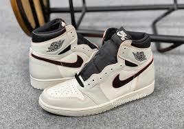 Jordan Shoes With Lights Nike Sb Air Jordan 1 Light Bone Crimson Tint Cd6578 006