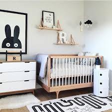 modern black white. Modern Gender Neutral Nursery Decorations Black White Nurseries