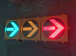 Traffic Light 3 Hot Item En12368 3 Aspects Red Amber Green Arrow Led Traffic Light