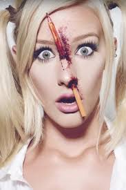 das ist das etwas andere blutigere schulmädchen makeup tutorial s
