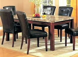 round granite top dining table excellent throughout prepare white