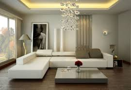 Living Room : Outstanding Tan Living Room Design For Small Space With L  Shape White Bed Sofa And Square Grey Low Profile Coffee Table On Wooden  Floor Also ...