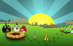 Angry Birds Game Wallpaper for 1920x1200