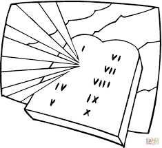 Tablets of Stone coloring page   Free Printable Coloring Pages