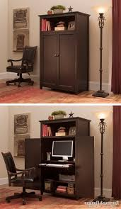 home office desk armoire. 15 Home Office Desks To Help You Get Organized And Doors Sauder Edge Water Computer Armoire Desk N