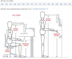 set up your ideal ergonomic workspace in 6 simple steps office desk height metric erg