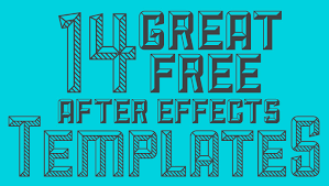 free after effects templates 14 great free after effects templates designbent