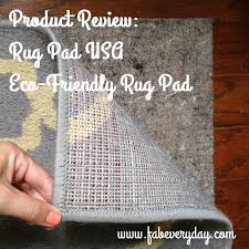 review rug pad usa premium lock eco friendly rug pad