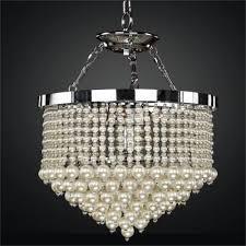 pearl chandelier light vintages 641