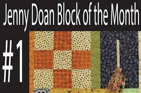Jenny Doan Block of the Month (BOTM) #1- Missouri Star Quilt ... & Jenny Doan Block of the Month (BOTM) #1- Missouri Star Quilt Company -  YouTube Adamdwight.com