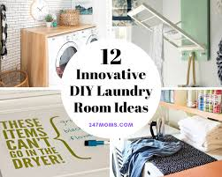 12 innovative diy laundry room ideas