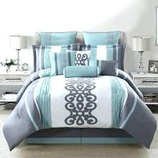 blue king size comforter sets. Marvellous King Size Comforters Comforter Sets Bed Linen Navy And Silver Bedding Blue Queen Only
