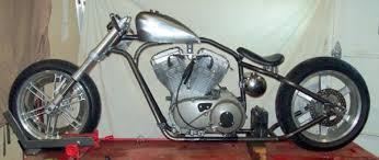 buell xb frame roller chopper bobber chassis suzuki gsx r hybrid