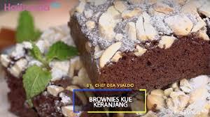 Kue keranjang biasanya dihidangkan untuk disantap bersama keluarga ataupun menjadi bingkisan untuk kerabat dekat. Resep Brownies Kue Keranjang Kreasi Istimewa Di Tahun Babi Tanah