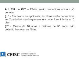 clt artigo 134