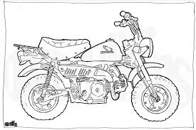 Bmw S1000rr Custom Racebike Colouring Page