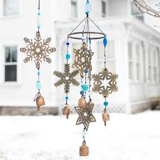 Large Snowflake Wind Chime - Isabella Catalog ...