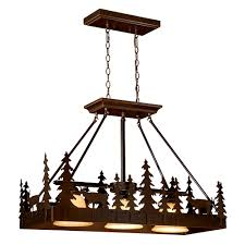 Rustic Chandeliers And Cabin Lighting Black Forest Log Ideas Canyon Island  Pendant Light For Low Or High Ceiling