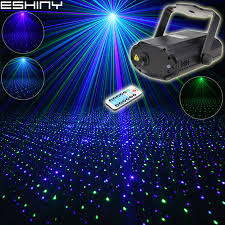 Star Light Laser Dancer Us 49 99 Eshiny Remote Mini Blue Green Laser Full Stars Patterns Projector Dj Dance Disco Bar Family Party Xmas Stage Effect Light T170 In Stage