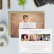 Photography Gift Certificate Template Photography Studio Gift Certificate Template Gift Card Template
