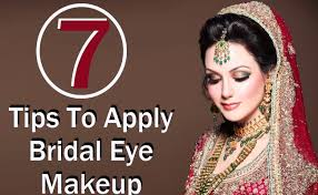 7 tips to apply bridal eye makeup