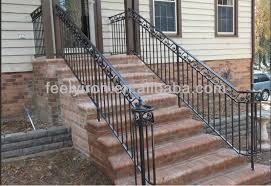 exterior handrails suppliers. exterior wrought iron stair handrail fh-006 handrails suppliers