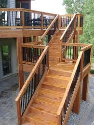 top prefab deck stair railing design ideas how to build wood steps prefab outdoor stairs