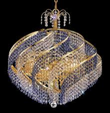 spiral multi color crystal chandelier w 15 lights in gold intended for elegant house colored crystal chandelier designs