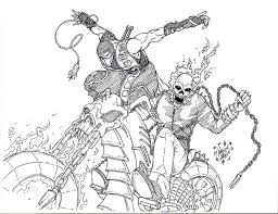 Small Picture Scorpion Ghostrider Original Patrickolsen Deviantart Bebo Pandco