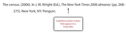 Apa And Mla Documentation And Formatting