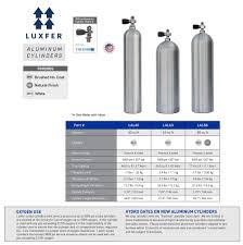 Luxfer Cylinders Aluminum Xs Scuba