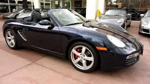 2008 Porsche Boxster S Midnight Blue on Sea Blue interior 22,000 ...