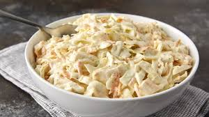 tangy horseradish coleslaw