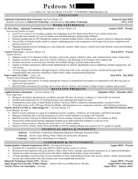 Cal Poly Resume Examples Resume Examples Templates Orfalea Student Services