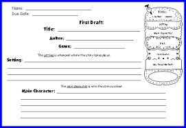 cheeseburger book report projects first draft writing worksheets first draft worksheet 2