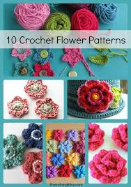 Free Crochet Flower Patterns Cool 48 Simple Crochet Flower Patterns EverythingEtsy
