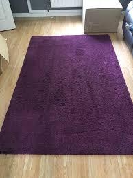 purple rug ikea adum deep pile