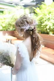 おしゃれ花嫁なら断然ポニーテール今流行りの結婚式髪型を一挙にご紹介