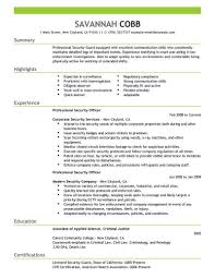 Director Of Security Resume Examples Best Professional Security Officer Resume Example LiveCareer 5