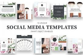 10 Styled Social Media Kits For Fashion Bloggers
